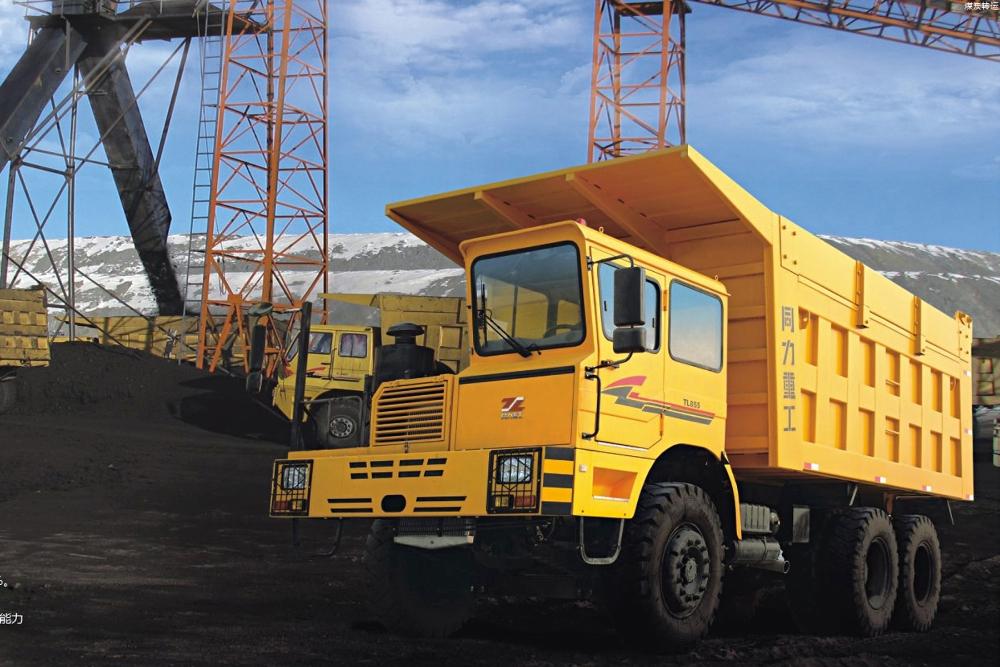 同力重工运煤车运煤车图片