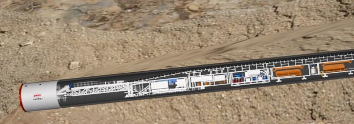 铁建重工TBM长距离大坡度斜井