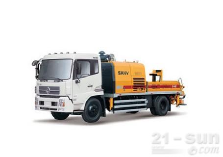 三一SY5125THB-12020C-6GD车载式混凝土输送泵