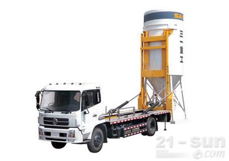 三一SY5310ZBGA干混砂浆背罐车(三一湖汽底盘)
