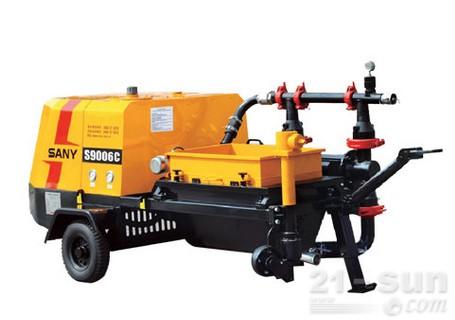 三一S9006C-1W液压活塞砂浆泵