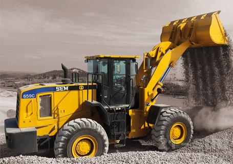 山工SEM659C轮式装载机图片