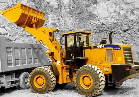 山工SEM660D轮式装载机
