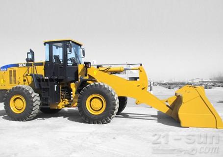 山工SEM650B特长臂轮式装载机图片