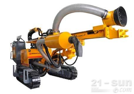 孔山重工KS-368液压潜孔钻机(带除尘装置)