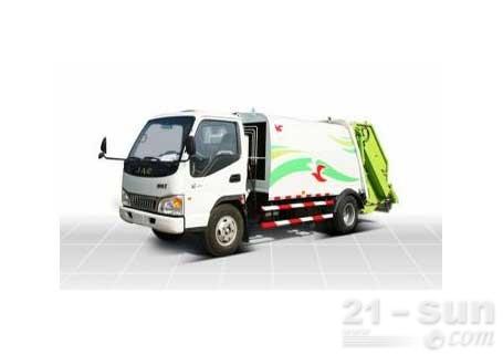 潍柴特种车YZT5072ZYS压缩式垃圾车