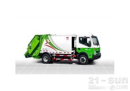 潍柴特种车YZT5164ZYS压缩式垃圾车