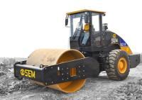 山工SEM8218单钢轮压路机