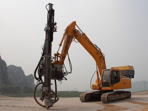 恒日科技90A挖机钻(全液压型)外观图6