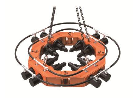 若鞍亿科技RP500全液压式截桩机
