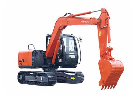 日立ZX70-5G挖掘机