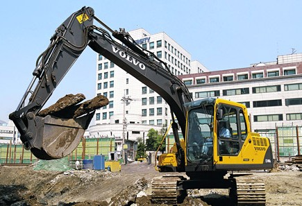 沃尔沃EC140DL挖掘机