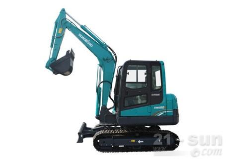 山河智能SWE60E挖掘机
