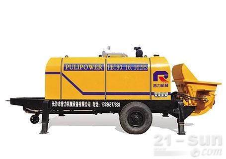 惠龙机械HBT80.16拖泵