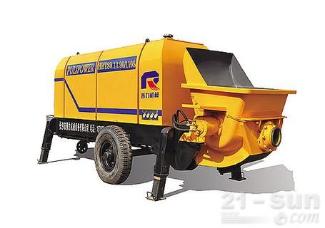 惠龙机械HBT80.13拖泵图片
