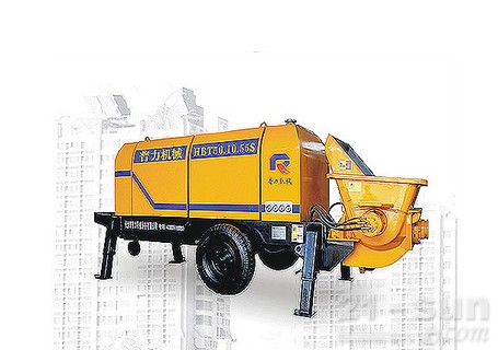 惠龙机械HBT50.10拖泵图片