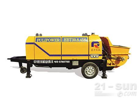 惠龙机械HBT30.8.45S拖泵图片