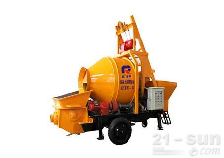 惠龙机械细石混凝土搅拌拖泵图片