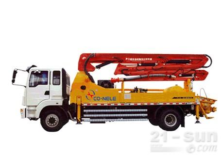 惠龙机械小型臂架混凝土泵车图片
