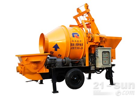 惠龙机械JBT30-D拖泵图片
