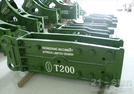 连云港工兵T200直立型破碎锤图片