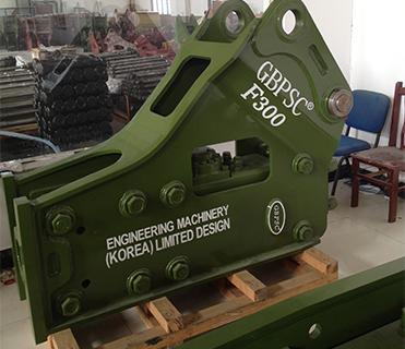 连云港工兵F300三角型破碎锤图片