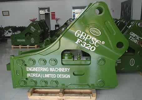 连云港工兵F320三角型破碎锤图片