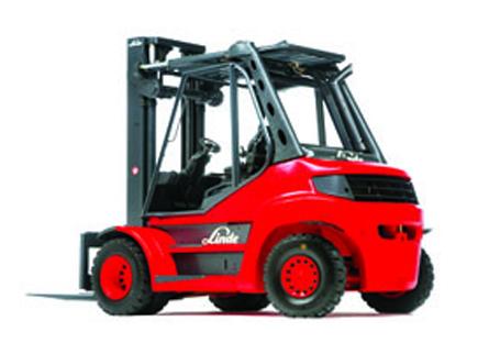 林德H80D柴油/液化石油气叉车