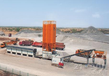 华通动力WBS800E稳定土厂拌设备