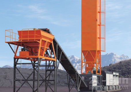 华通动力WBSC400稳定土厂拌设备图片