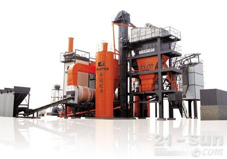 华通动力ABH3000强制间歇式沥青搅拌站图片