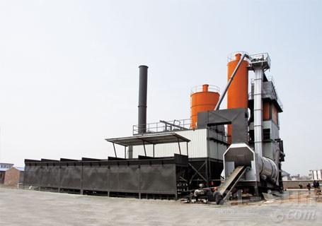 华通动力ABH4000强制间歇式沥青搅拌站