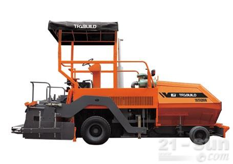 华通动力2LTLZ60轮胎式摊铺机