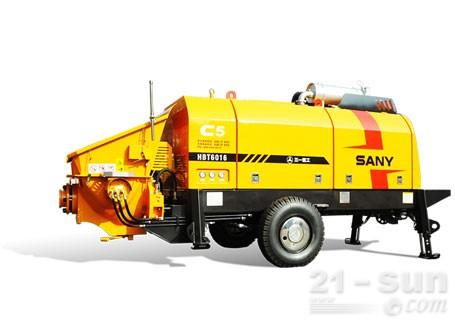 三一HBT5013C-5电动机混凝土拖泵