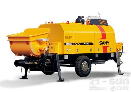 三一HBT8013C-5D柴油机混凝土拖泵