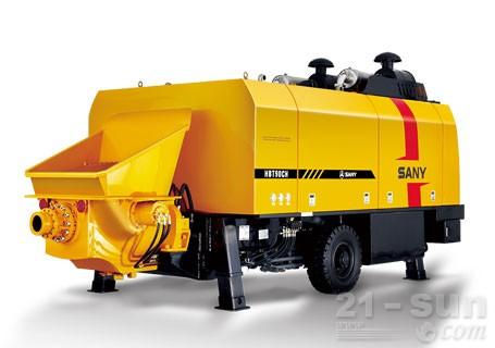 三一HBT9050CH-5D超高压混凝土输送泵