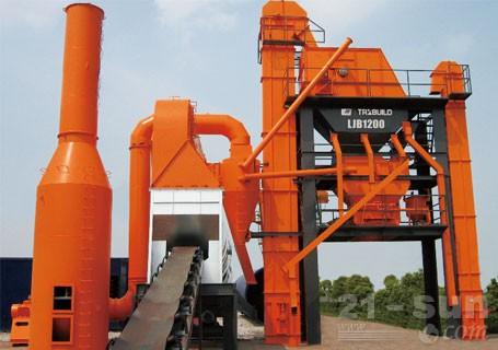 华通动力LJB1500强制间歇式沥青搅拌站