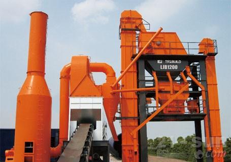 华通动力LJB1200强制间歇式沥青搅拌站