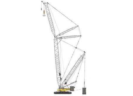 三一SCC6500E常规吊装系列履带起重机