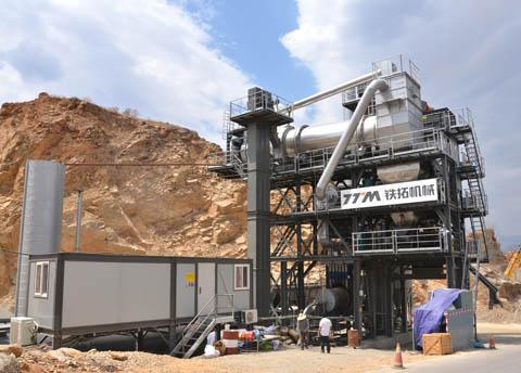 铁拓机械TS1010沥青厂拌热再生设备图片