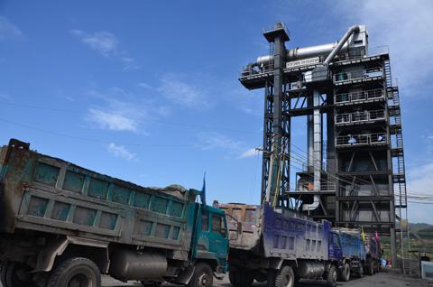 铁拓机械TS2015沥青混合料搅拌站