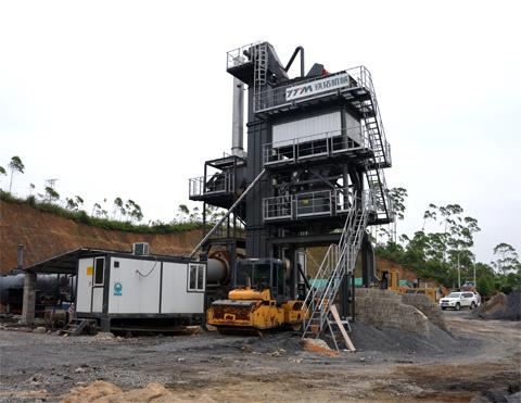 铁拓机械LB-600/1000沥青混合料拌合站