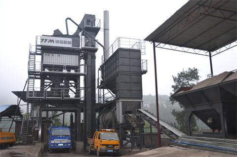 铁拓机械LB-1000/1200沥青混合料搅拌设备