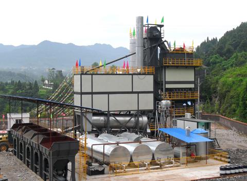 铁拓机械LB-3000沥青混合料搅拌设备