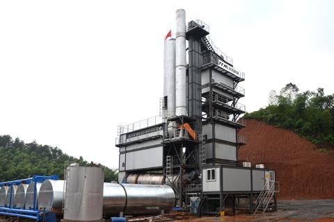 铁拓机械GLB-3000沥青搅拌站