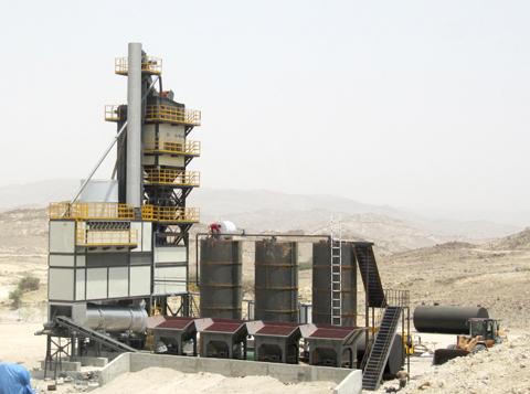 铁拓机械GLB-1500沥青拌合站