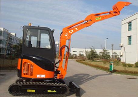 沃特重工VT30微型履带挖掘机