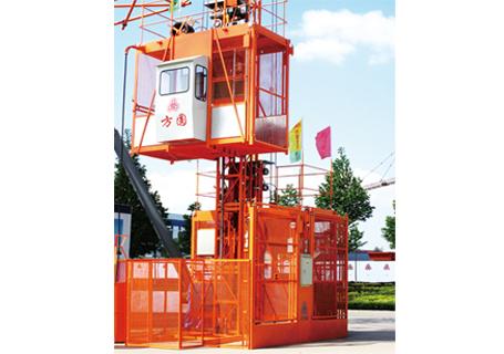 方圆集团SCD200/200施工升降机