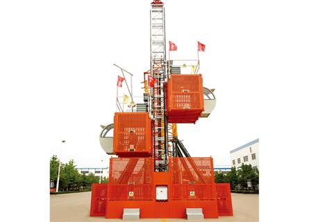 方圆集团SC200/200BP变频施工升降机
