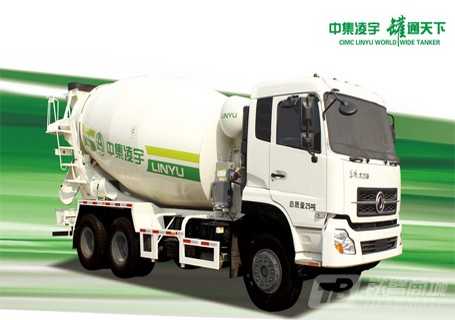 凌宇汽车ZJV5254GJBLYSX4陕汽(6×4)LNG10方混凝土搅